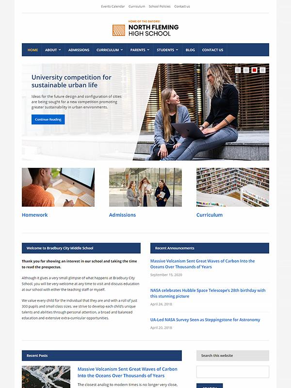 Lectura Lite WordPress Theme Screenshot