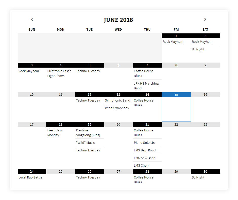 Add an Event Calendar to WordPress Using the Most Popular