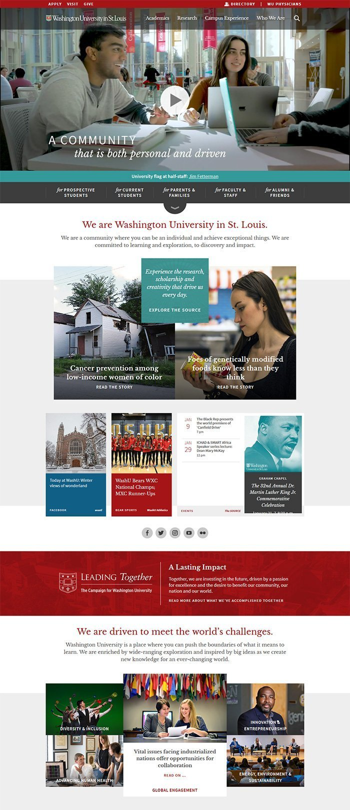 60 Beautiful And Unique University Websites Powered By Wordpress 2020 Academiathemes